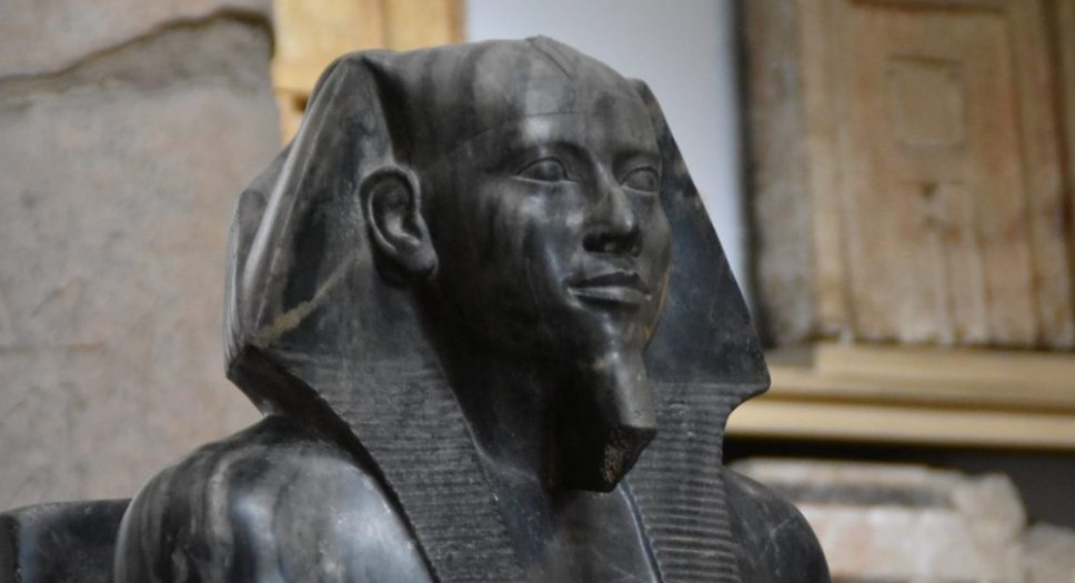 Khefren, Egyptiska museet. © Herodotos resor.